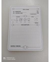 DnD 5e Illustrated Spell Cards