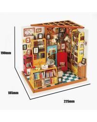 Maqueta Librería de Sam
