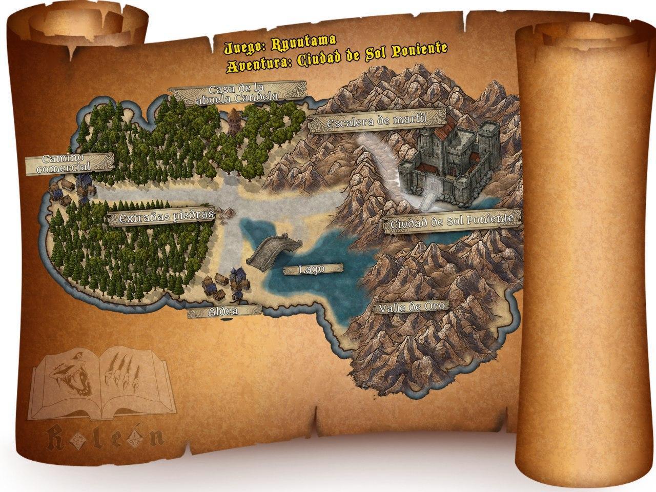 ryuutama-mapa